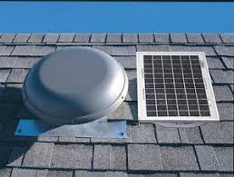 air vent inc 53510 npsp8ww solar power attic roof vent