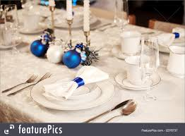 christmas table setting images served tables christmas table setting stock picture i2376737 at