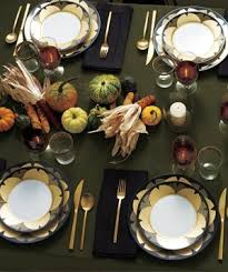 upgrade your thanksgiving table settings real simple