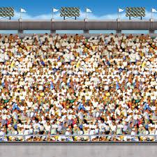 30 upper deck stadium backdrop birthdayexpress com