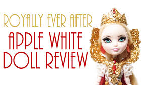after high apple white doll royally after apple white doll review after high