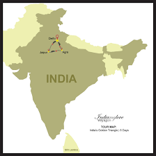 Jaipur India Map by India U0027s Golden Triangle India My Love Voyages