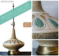 sold mid century genie lamp 1961 dre lynn hudson photoblog