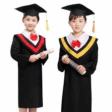 kindergarten cap and gown 10sets dr children clothing graduation gown dr kindergarten suit a