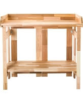 Outdoor Potters Bench Sale Alert Potting Benches Deals