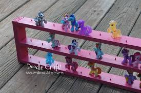 My Little Pony Blind Bags Box Doodlecraft My Little Pony Blind Bag Display Case