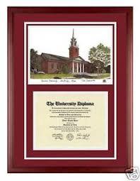 harvard diploma frame harvard custom wood diploma frame w artwork ebay