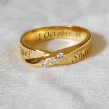 customized rings with names sterling sliver 3 cz diamonds custom name rings personalized