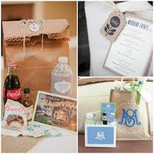wedding wednesday welcome bag ideas merryme events