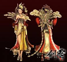 costume new year exclusive lunar new year costumes come to blade soul taiwan server