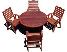 Cedar Patio Table Cedar Patio Furniture