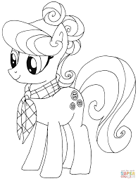 suri polomare from my little pony coloring page my little pony