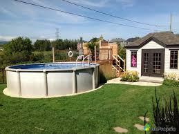 amenagement autour piscine hors sol design deck de piscine hors sol avignon 1833 piscine hors sol