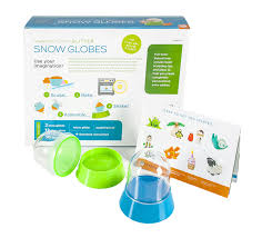 amazon com make your own glitter snow globes toys u0026 games