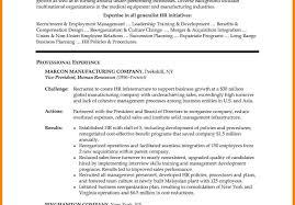 Resume Sle India Pdf manager resumemple india human resource pdf hr executive