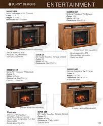 prices u2022 sunny designs tv furniture u0026 fireplace consoles u2022 al u0027s