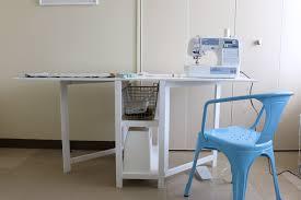 fold away sewing machine table folding sewing machine table plans folding table ideas