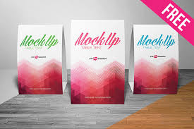 Table Tents Template Free Table Tent Mock Up In Psd Free Psd Templates
