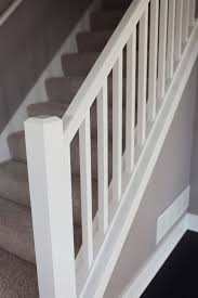 Banister Rail And Spindles The 25 Best Wood Stair Railings Ideas On Pinterest Stair Case