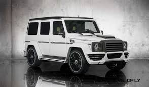 mansory mercedes g63 mansory g couture and g63 soft