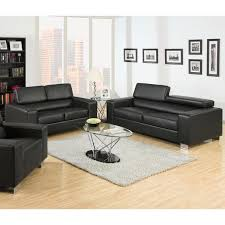 Gray Leather Sofa And Loveseat Furniture Of America Mazri 2 Bonded Leather Sofa And