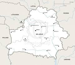 map of belarus vector map of belarus political one stop map