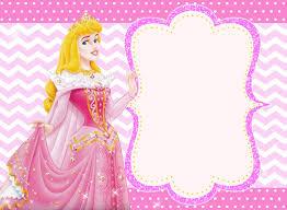 Princess Themed Invitation Card Free Printable Princess Invitation Templates