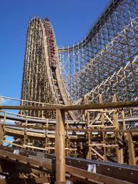 Six Flags Height El Toro Roller Coaster Drop