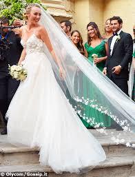 si e cristel carrisi e davor luksic si sono sposati sabato 3 settembre a