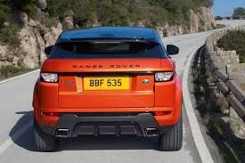 orange range rover land rover range rover evoque coupe 2013 pictures land rover