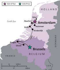 Where Is Holland On The Map Sights And Soul Travels Masters And Artisans Tour To Holland And