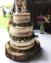wedding cake greenery semi wedding cake decorated with fresh greenery catherine