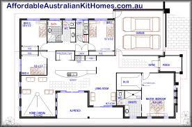 Duplex Floor Plans Australia You Will Love This One Nice 4 Bedroom House Plan Media
