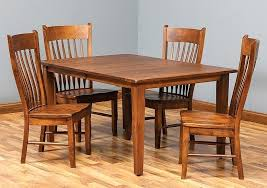 Amish Dining Room Chairs Amish Made Kitchen Chairs Captivating Made Dining Room Tables For