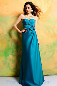 buy tailor made full length sweetheart ruched bow turquoise