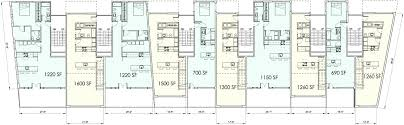 floor plan live powelton village live work housing lynn tarbox archinect