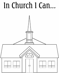 emejing church coloring pages gallery printable coloring pages