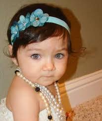 infant headbands orange and hot pink lace chiffon baby headband infant headbands