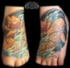 koi foot by state of art tattoo on deviantart
