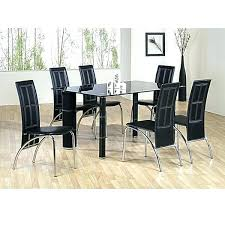 decoration of dining table mitventures 20 photos glass dining tables with 6 chairs dining room ideas