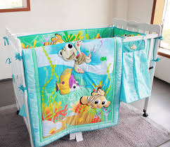 Finding Nemo Crib Bedding 8 Pieces Crib Baby Bedding Set Finding Nemo Baby Nursery Cot Ropa