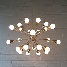 1950s Chandelier Tribute Chandelier Inspired By Mid Century Modern Chandeliers Made