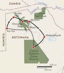 africa map kalahari kalahari san tribe expedition itinerary map wilderness travel