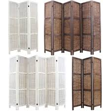Rattan Room Divider Loose Wicker Room Divider Natural Privacy Screen Separator Panel