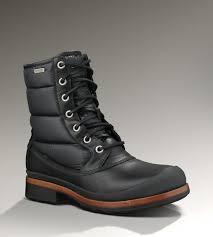 ugg boots australia mens ugg hamric s black waterproof boots s ugg boots
