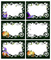 Six Halloween Frames U2014 Stock Vector Pressmaster 11696427