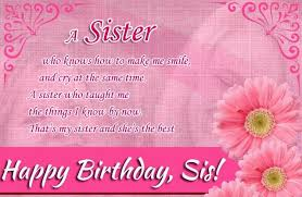 beautiful birthday wishes to a sister inspiration best birthday