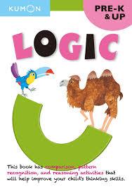 logic grade pre k thinking skills workbooks kumon thinking