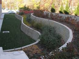 retaining walls on a slope bract retaining walls and excavating