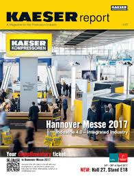 kaeser report 2017 by alain charles publishing issuu